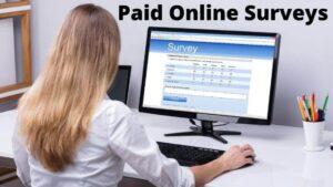 paid for online surveys