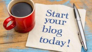how do you start a blog