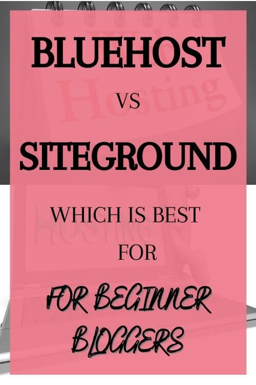 This Bluehost vs Siteground review will tell you in detail comparison between these bloggin hosts for beginners Best bloggintips for those looking to have your site  Bluehost or siteground hosted